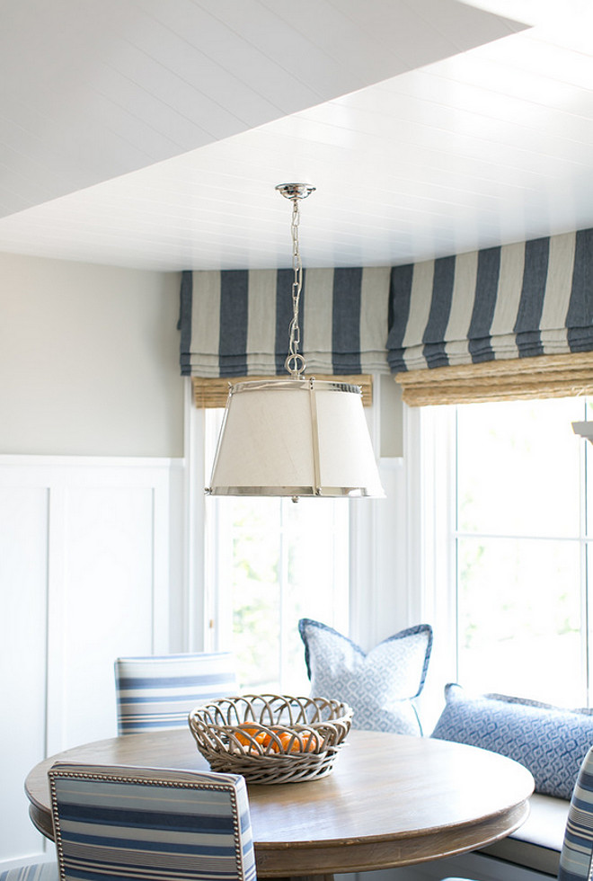 Belluno Hanging Shade in Polished Nickel from Vaughan Lighting. Pendant Light Belluno Hanging Shade in Polished Nickel from Vaughan Lighting #BellunoHangingShade #VaughanLighting Brooke Wagner Design