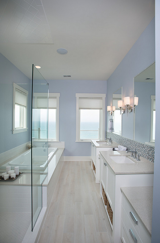 Silver gray benjamin moore bathroom for Silver mist paint color