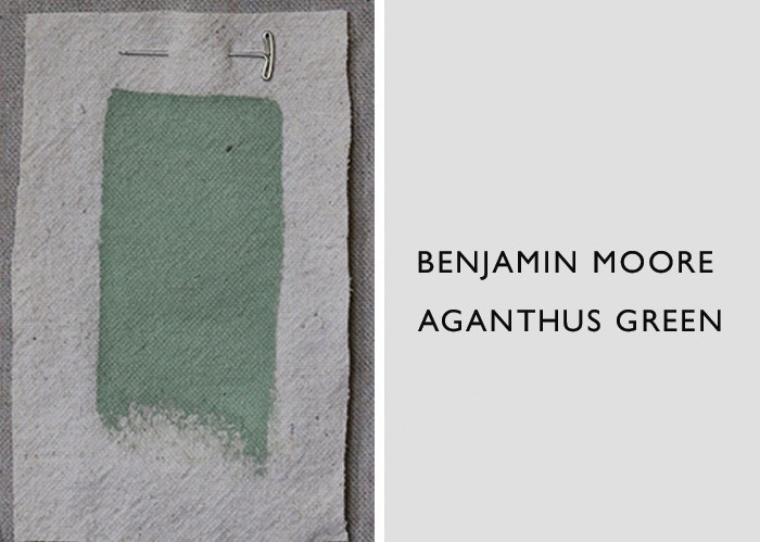 Best Jade and Celadon Green Paint Colors, Benjamin Moore Aganthus Green