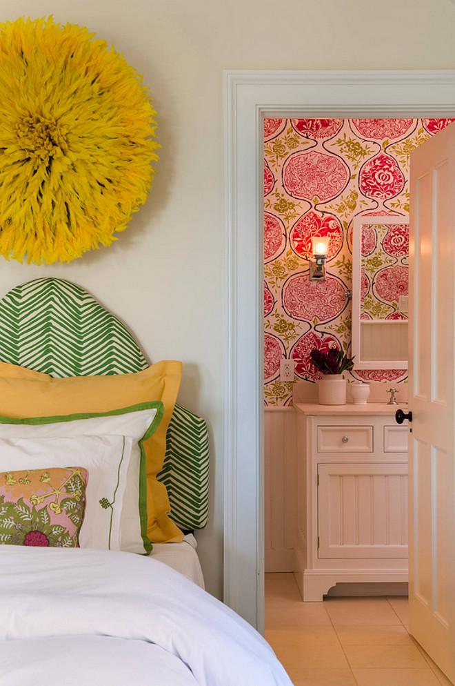 Colorful kids bedroom. Colorful kids bedroom and bathroom. Colorful kids bedroom #Colorfulkidsbedroom Kate Jackson Design