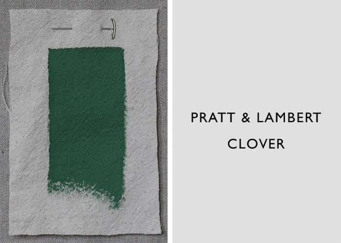 Dark Green Paint Colors, Pratt & Lambert Clover