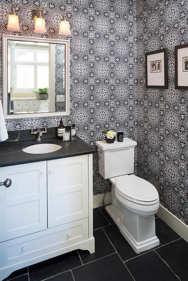Encaustic wall tiles. Bathroom Encaustic wall tile ideas. Encaustic wallpaper. Encaustic wall tiles #Encausticwalltiles #Encaustic #Encausticwallpaper Martha O'Hara Interiors