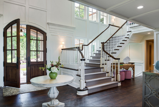 Foyer staircase. Foyer staircase design. Foyer staircase design ideas. Foyer staircase. #Foyerstaircase #Foyer #staircase #foyerdesign #staircasedesign #Foyerstaircasedesign Alexander Design Group, Inc