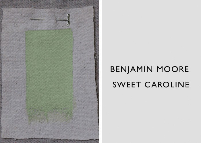 Green Paint Colors, Benjamin Moore Sweet Caroline