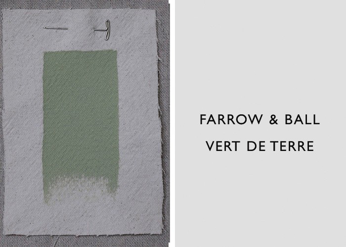 Green Paint Colors, Farrow & Ball Vert de Terre