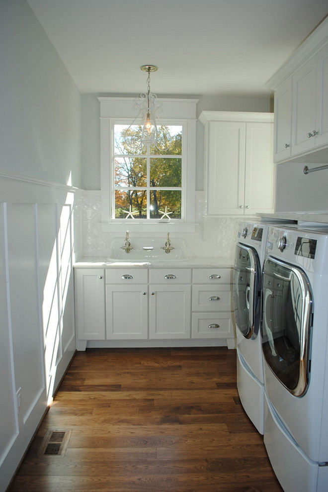 Laundry Room Wainscoting. Laundry Room Wainscoting. Laundry Room Wainscoting #LaundryRoomWainscoting #LaundryRoom #Wainscoting Stacye Love Construction & Design, LLC