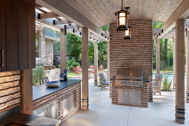 Outdoor Kitchen. Outdoor Kitchen. Outdoor Kitchen. Covered Outdoor Kitchen. Outdoor Kitchen Covered Outdoor Kitchen #OutdoorKitchen #CoveredOutdoorKitchen Francesca Owings Interior Design