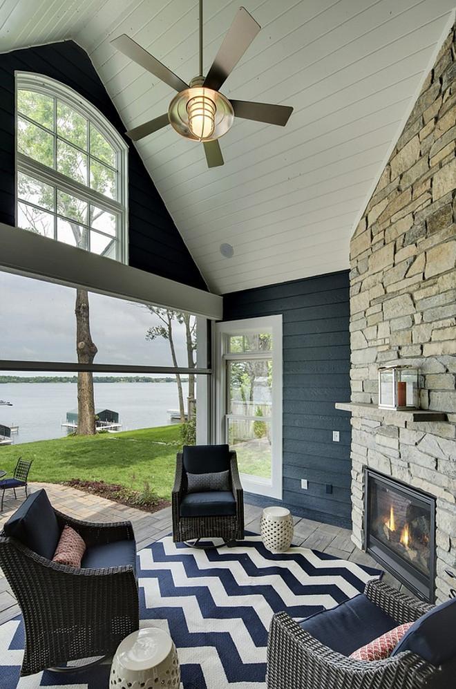 Patio fireplace. Patio fireplace. Patio with stone fireplace. #Patiofireplace #stonefireplace #patiostonefireplace Grace Hill Design. Gordon James Construction.