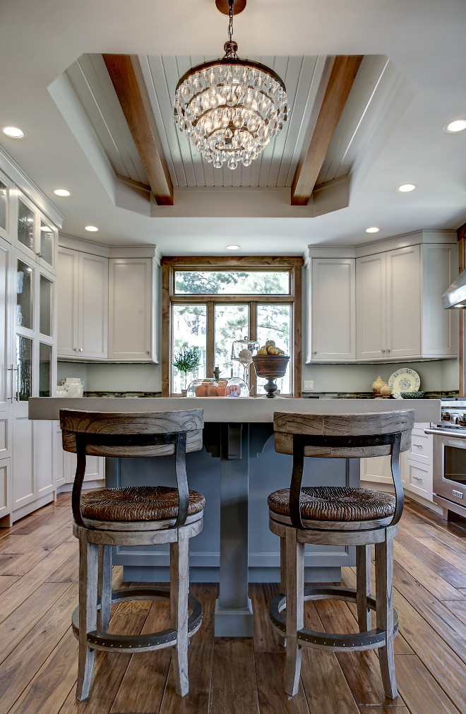 Transitional Gray Kitchen Remodel Home Bunch Interior