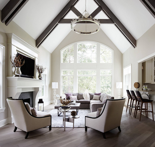 Revere Pewter HC-172 by Benjamin Moore. Revere Pewter HC-172 by Benjamin Moore Paint Color #ReverePewterHC172byBenjaminMoore Summit Signature Homes, Inc