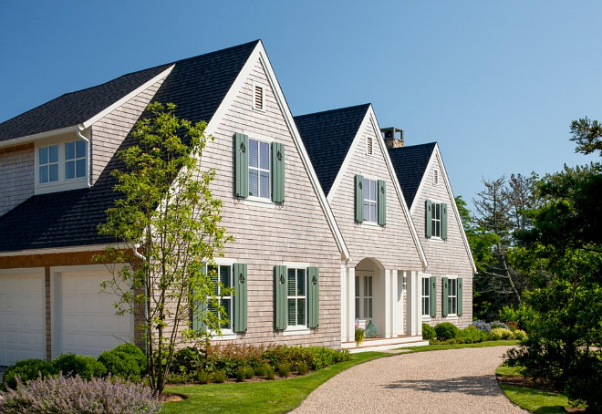 Shingle Home Classic Exterior Ideas