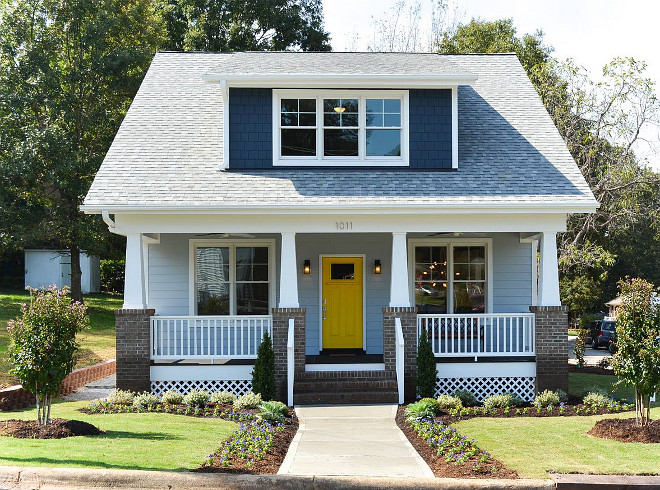 Yellow Door paint color. Yellow door paint color ideas. Yellow front Door #YellowDoor #YellowDoorPaintColor #YellowDoorIdeas #YellowFrontDoor Jody Brown Architecture, pllc