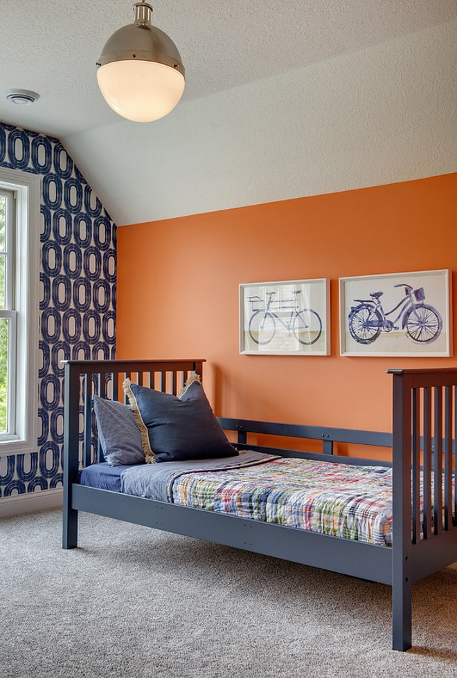 Benjamin Moore Tangerine Dream 2012-30. Orange paint color. Benjamin Moore Tangerine Dream 2012-30. Benjamin MooreTangerine Dream 2012-30 #BenjaminMooreTangerine Dream 2012-30 #BenjaminMooreTangerineDream