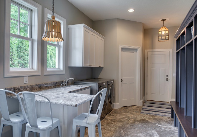 Laundry Room, Mudroom and Craftroom. Multi task rooms Laundry Room, Mudroom and Craftroom. Laundry Room, Mudroom and Craftroom combination ideas. #LaundryRoomMudroomCraftroom #LaundryRoom #Mudroom #Craftroom