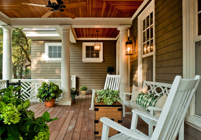 Front Porch Furniture, decor, lighting. Porch Furniture, decor, lighting. Front Porch Furniture, decor, lighting ideas. #FrontPorch #FrontPorchFurniture #FrontPorchdecor #FrontPorchlighting #FrontPorchideas Mark P. Finlay Architects, AIA.