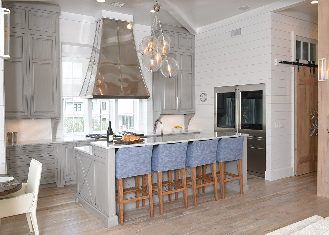 Graywashed Kitchen Cabinets. Graywashed Kitchen Cabinets. Kitchen Custom Graywashed Cabinets. Graywashed Kitchen Cabinet Ideas. Graywashed Kitchen Cabinet Paint Color. #GraywashedKitchenCabinets #GraywashedKitchenCabinetIdeas #GraywashedKitchenCabinetPaintColor #GraywashedKitchenCabinet Interiors by Courtney Dickey of TS Adams Studio.