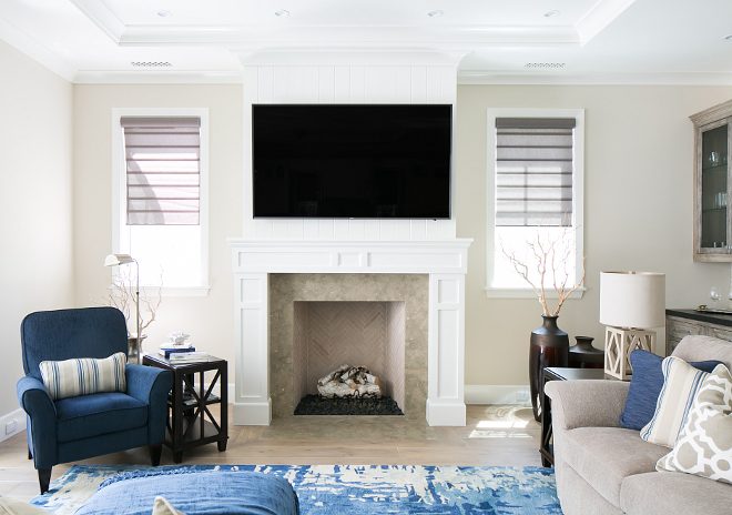 Neutral Paint Color. Sherwin Williams White Duck. neutral wall paint color. Great neutral paint color for interiors Sherwin Williams White Duck. #SherwinWilliamsWhiteDuck Patterson Custom Homes. Brandon Architects, Inc.