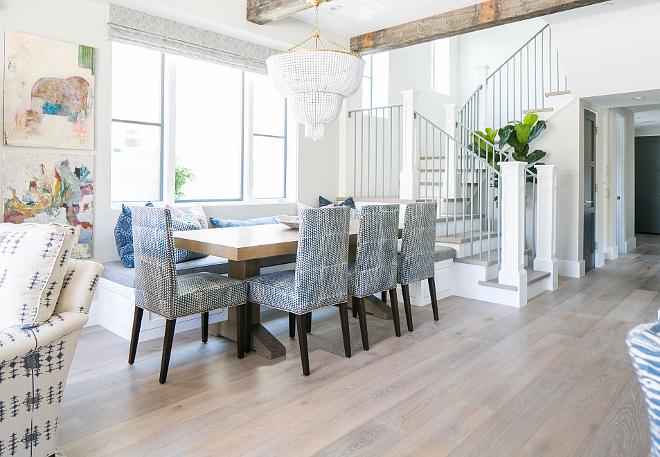 Light Hardwood Floor. The floors are white oak by Warren Christopher Flooring. White oak flooring. White oak with light stain. Light staing hardwood floors. #whiteoakhardwood #oakflooring #whiteoakflooring #whiteoak #flooring #hardwood #LightHardwoodFloor Patterson Custom Homes
