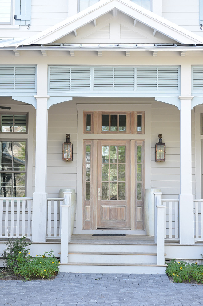 Front Door Lantern Sconces. Front Door Lantern Sconce Ideas. Front Door Lantern Sconce Lighting. Front Door Lantern Sconces are Bevolo. Front Door Lantern Sconces #FrontDoorLanternSconces #FrontDoor #LanternSconces #Bevolo #FrontdoorLighting Interiors by Courtney Dickey of TS Adams Studio.