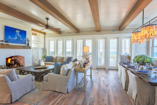 Beach house flooring. Beach house flooring ideas. Beach house hardwood flooring. Beach house hardwood flooring ideas. Beach house plank hardwood flooring. #Beachhouse #hardwoodflooring #Beachhouseflooring #plankhardwoodflooring Taylor and Kelly Interiors