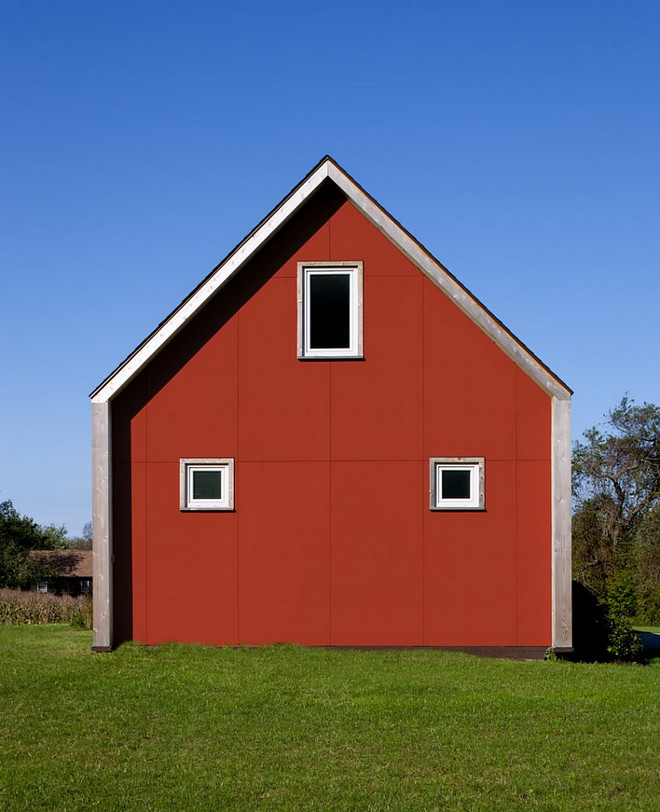 Red Barn Paint Color. Benjamin Moore Holly Berry 1321. Benjamin Moore Holly Berry 1321 Real red barn paint color exterior Benjamin Moore Holly Berry 1321 #BenjaminMooreHollyBerry1321 #BenjaminMoore #HollyBerry #redbarn #paintcolor ZeroEnergy Design