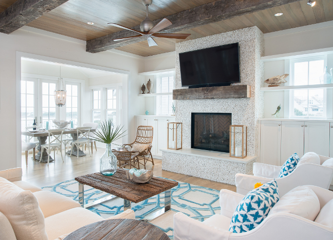 New Beach Vacation Home With Coastal Interiors Home