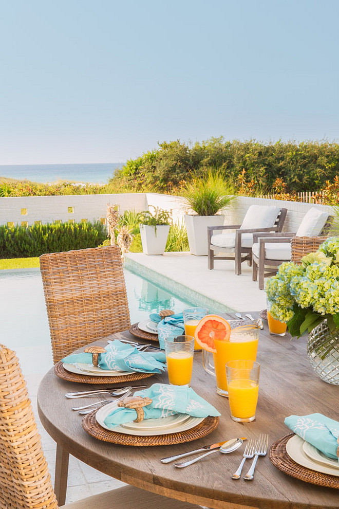 Beach house patio furniture. Beach house patio furniture ideas. Beach house patio. Beach house outdoor furniture. #Beachhouse #patiofurniture #patio #outdoors #outdoorfurniture