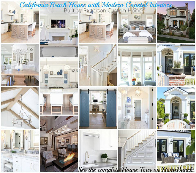 California Beach House Ideas #California #BeachHouse #Interiors