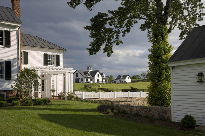 Farm. Farm. Beautiful farm and farmhouse #farm #farmhouse Mark P. Finlay Architects. Photo by Durston Saylor, Eric Roth