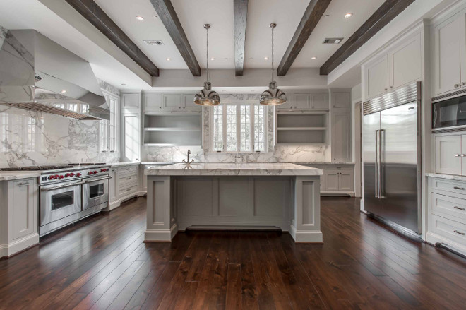 Interior Design Ideas Home Bunch Interior Design Ideas - Gray kitchen cabinets with marble countertops