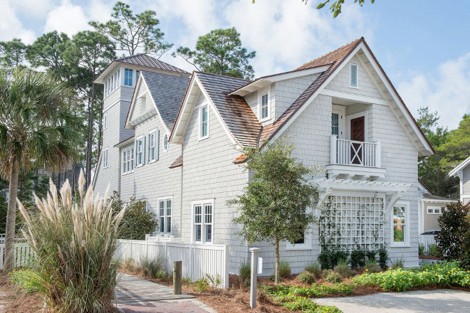 "Benjamin Moore Sea Pines. Benjamin Moore Sea Pines. The side shutters are painted in ""Benjamin Moore Sea Pines"". Benjamin Moore AC17 Sea Pines #BenjaminMooreSeaPines Interiors by Courtney Dickey of TS Adams Studio."