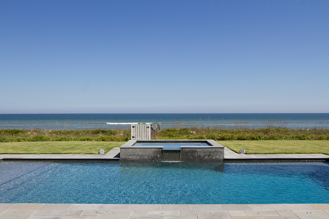 Oceanfront pool and spa ideas