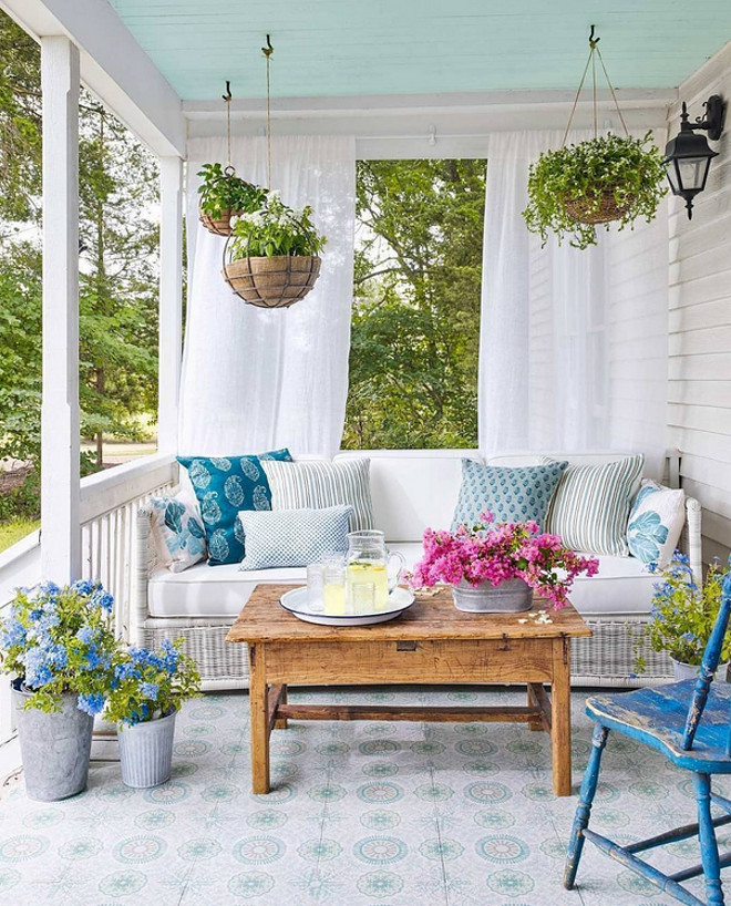Inspiring ideas from instagram homes home bunch interior Front veranda decorating ideas