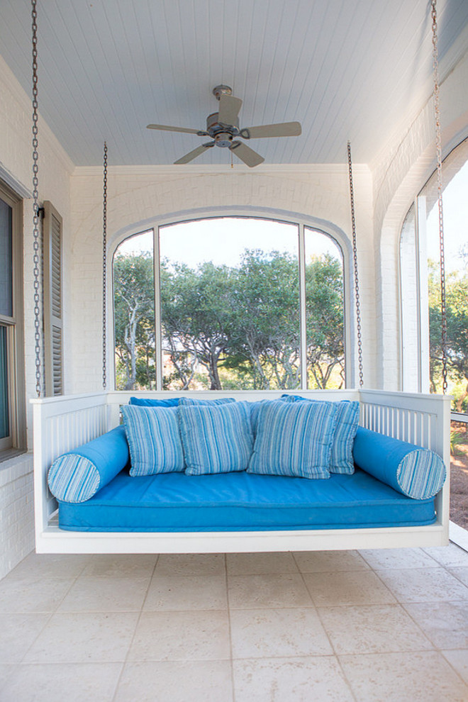 Porch swing cushions. Porch swing cushions. Porch swing cushions. Porch swing cushion ideas. Porch swing cushion fabric. #Porchswingcushions #Porchswing #cushions #swing Taylor and Kelly Interiors