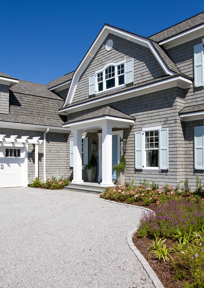 "Exterior White Trim Paint Color: ""Benjamin Moore Decorator's White"". Benjamin Moore Decorator's White. #BenjaminMooreDecoratorsWhite"