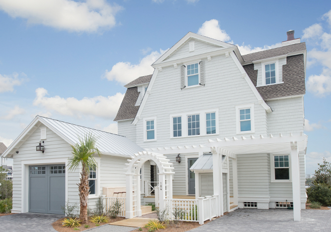 Benjamin Moore Exterior Paint Colors Dream Beach House Painted In Oc 56 Moonshine