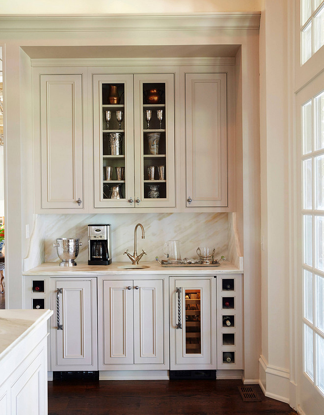 Kitchen Beverage Cabinet. Kitchen Bar Cabinet. The kitchen bar beverage cabinet is located on the other side of the kitchen. #Kitchen #Bar #Cabinet #BeverageCabinet #KitchenBar #BarCabinet #BeverageCabinet Cantley & Company, Inc.