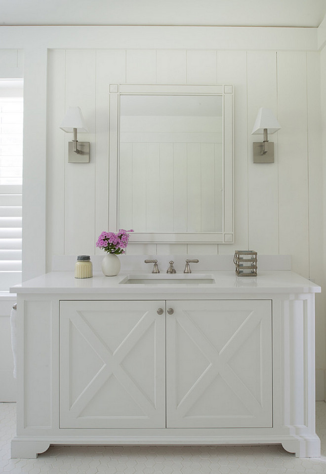 Bathroom milwork. Bathroom milwork. Bathroom milwork ideas. Bathroom milwork height. Bathroom wainscoting milwork #Bathroom #milwork #wainscoting Brooks and Falotico Associates, Inc.