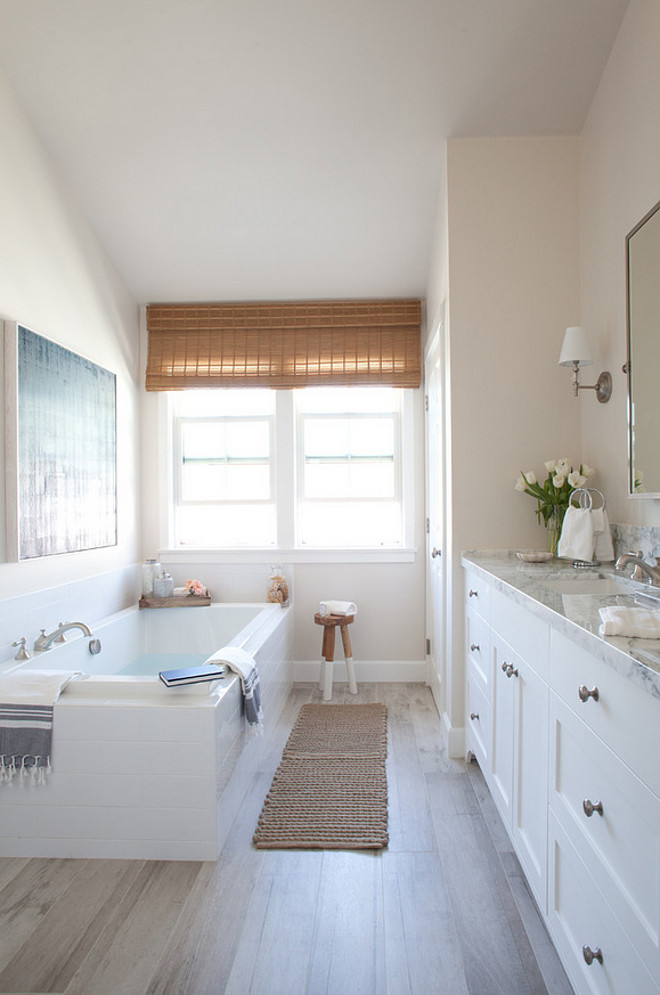 Bathroom plank floor tile. Bathroom plank floor tile ideas. Bathroom plank floor tiles. #Bathroom #plankfloortile #floortile #tile #floor Kate Lester Interiors