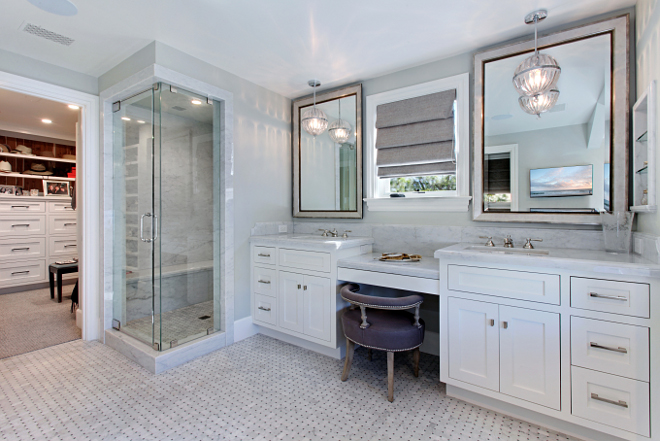 Master Bathroom With Walk In Closet Home Design