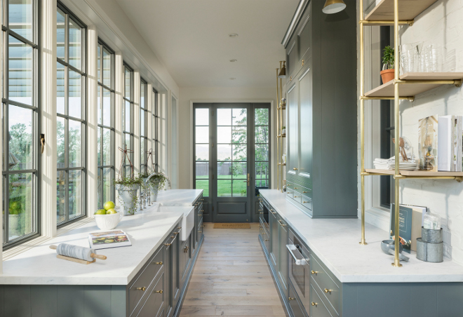 Butlers pantry. Butler's pantry. Butler's pantry is located off the kitchen and opens to a vegetable greenhouse. #Butlerspantry #Butlerspantryideas #Butlerspantrydesign