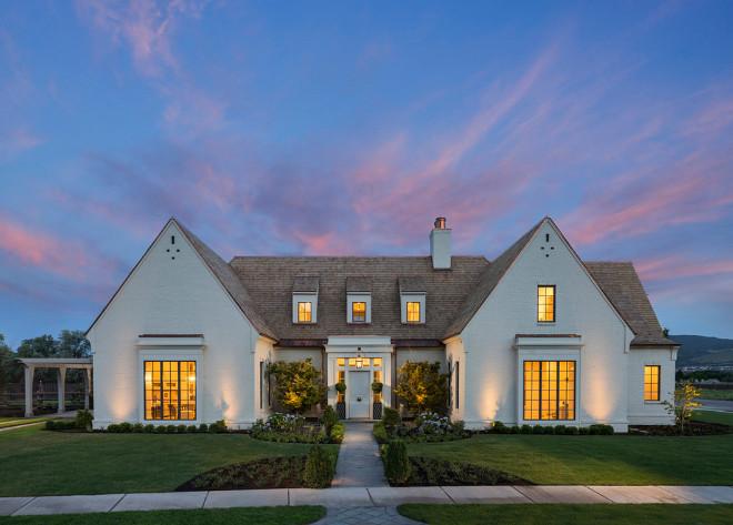 Classical Modern Home Exterior. Home Exterior Ideas. Classical Modern Home Exterior #ClassicalModern #HomeExterior