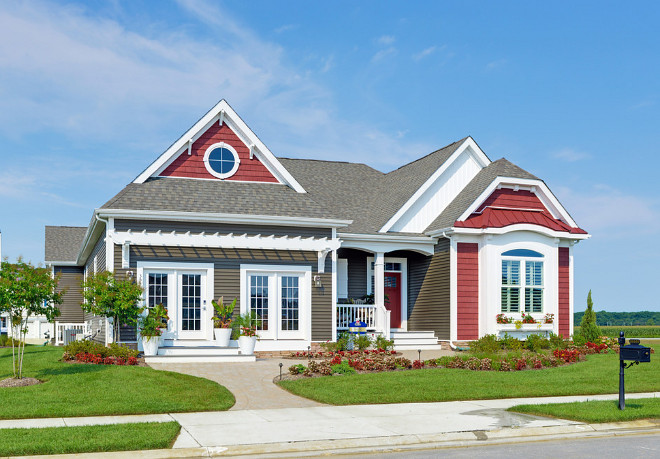 Curb-appeal. Home Exterior and Curb-appeal Ideas. Curb-appeal #Curbappeal Schell Brothers
