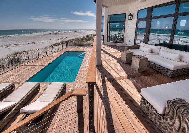 Deck with pool. Pool Deck. Pooll deck ideas. #Pool #Deck