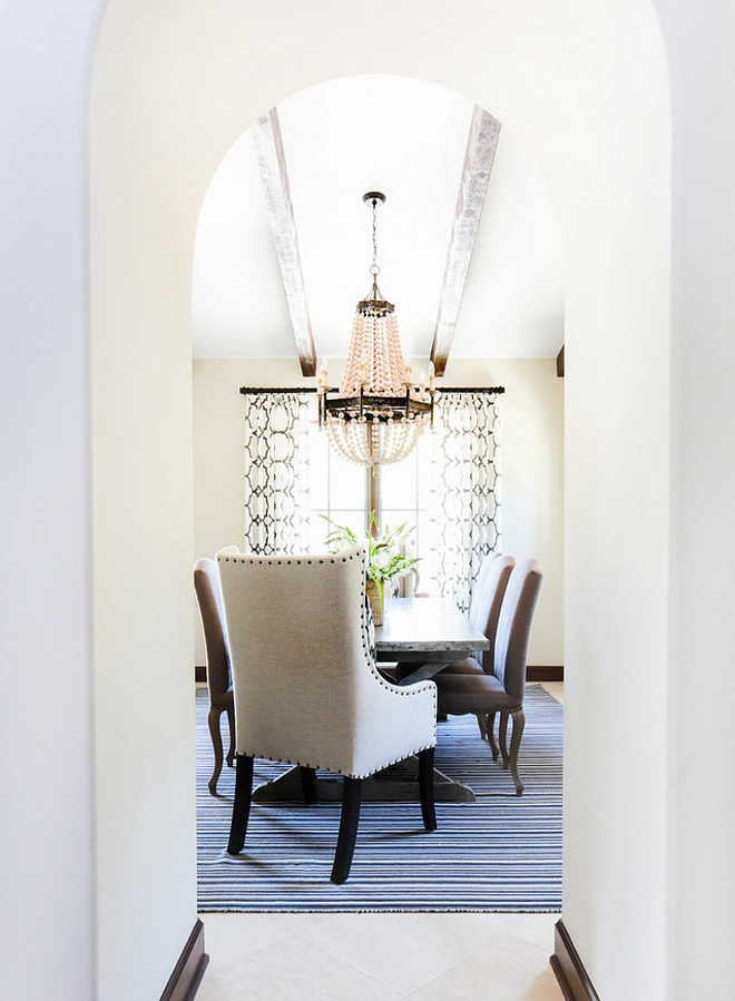 Dining room archway. Dining room archway ideas. Dining room archway #Diningroom #archway Blackband Design