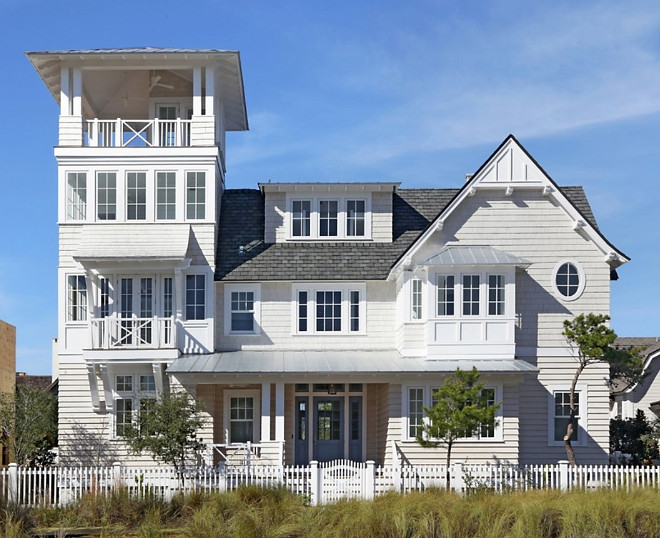 Florida Beach House. Shingled Florida Beach House. Florida Beach House #Florida #BeachHouse Corestruction