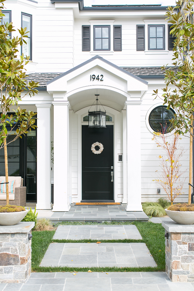 Front Door Lighting. The front door lighting is Lantern and Scroll JS-2 Hanging Lantern. Front Door Lighting Ideas. Front Door Lighting. #FrontDoor #Lighting #LanternandScroll #JS2 #HangingLantern #Lantern Brandon Architects, Inc. Churchill Design. Legacy CDM Inc.