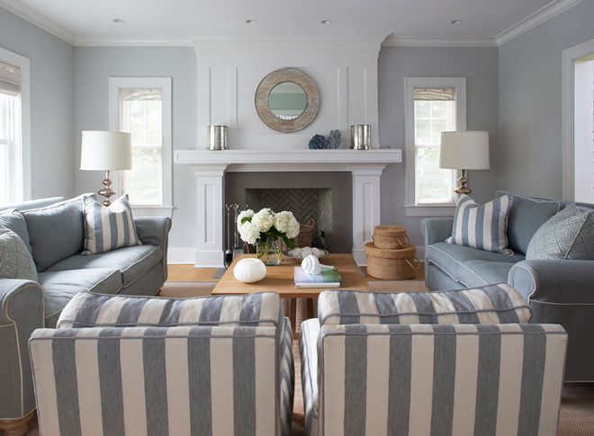 Gray living room. Tone on tone gray living room. #GrayLivingroom #toneontone #interiors Lynn Morgan Design.