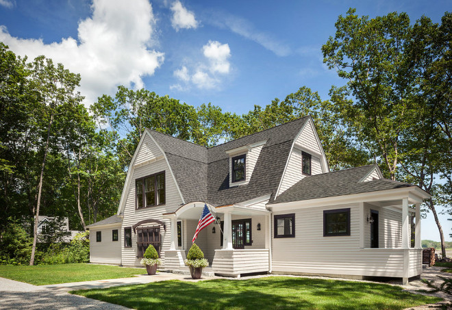 Home exterior. Home exterior with flag. Home exterior with flag. #Homeexterior #flag Bowley Builders