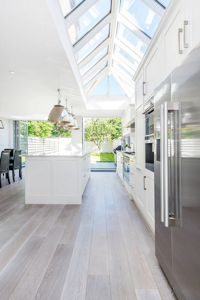Kitchen Flooring. Kitchen flooring. Kitchen flooring came from www.cheville.co.uk. they're a brushed oak with metallic element to the finish. #KitchenFlooring #Kitchen #Flooring #BrushedoakCATO creative